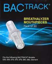 BACtrack Breathalyzers bactrack replacement mouthpieces